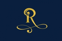 Luxury Letter R Logo
